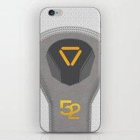 Oblivion Suit Tech 52 iPhone & iPod Skin