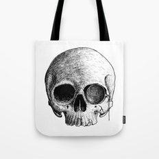 MONOCLE SKULL Tote Bag