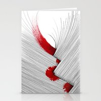 Impact (white version) Stationery Cards