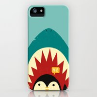 iPhone 5s & iPhone 5 Cases featuring Hi! by Jay Fleck