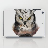 The owls are not what they seem iPad Case