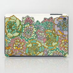 Blooming Succulents iPad Case