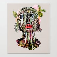 The Death Within 2  Canvas Print