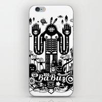 Big Babu iPhone & iPod Skin