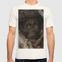Dead Wood Mens Fitted Tee Natural SMALL