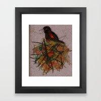Red-winged Framed Art Print