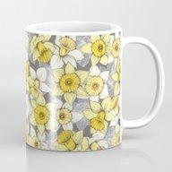 Daffodil Daze - Yellow &… Mug