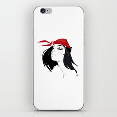 Elektra after Gruau iPhone & iPod Skin