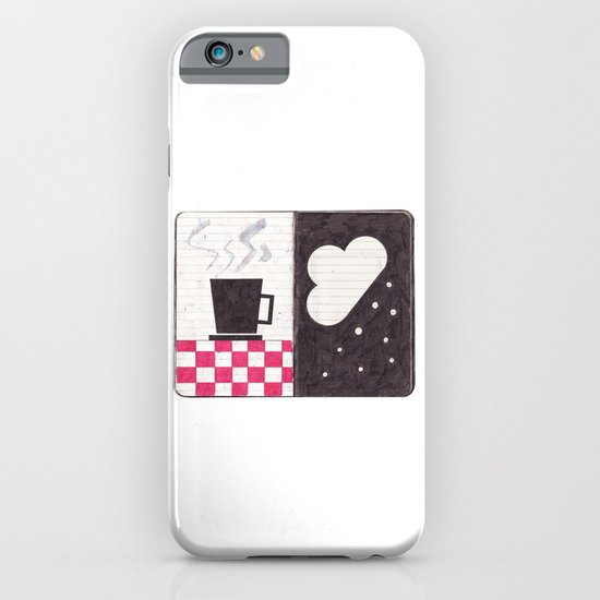 Coffee & Snow iPhone & iPod Case