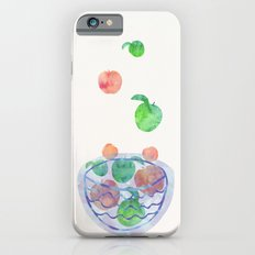 Red and Green Magic Apples in the Bowl iPhone 6 Slim Case