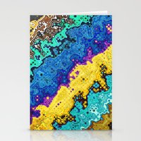 Macro Molecules of Color Stationery Cards