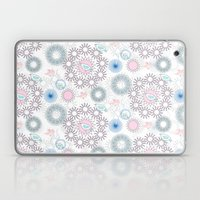 Birds And Flowers Patter… Laptop & iPad Skin