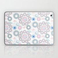 Birds and flowers pattern Laptop & iPad Skin
