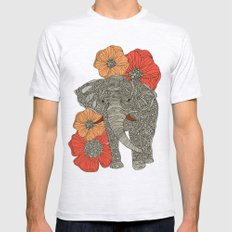The Elephant Mens Fitted Tee Ash Grey SMALL