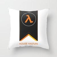 halflife 3 confirmed Throw Pillow