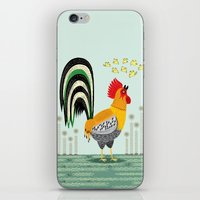 When The Rooster Crows iPhone & iPod Skin