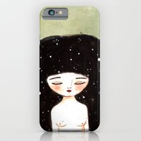 iPhone & iPod Case featuring I am the Cosmos by munieca
