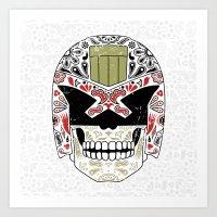 Day Of The Dredd - Varia… Art Print