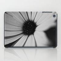 Black Daisy iPad Case