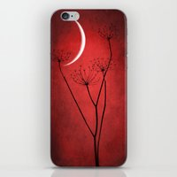 Red Is On iPhone & iPod Skin