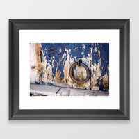 Entrance to an Old World Framed Art Print