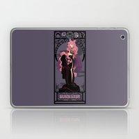 Black Lady Nouveau - Sai… Laptop & iPad Skin