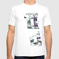 Cassette #3 Mens Fitted Tee White SMALL