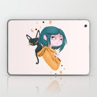 Twitchy, Witchy Girl Laptop & iPad Skin