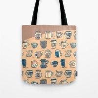 Coffee & Tea & Butts Tote Bag