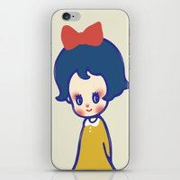 a little girl  iPhone & iPod Skin