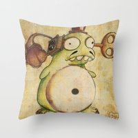 Grammovaglia Throw Pillow