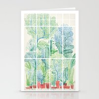 Winter in Glass Houses I Stationery Cards