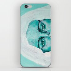 Mint Girl iPhone & iPod Skin