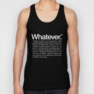Whatever.* Applies To Pr… Unisex Tank Top