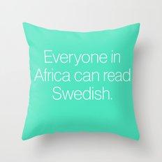 Mean Girls #7 – Swedish Throw Pillow