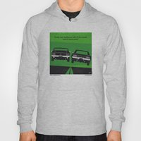 No214 My BULLITT minimal movie poster Hoody