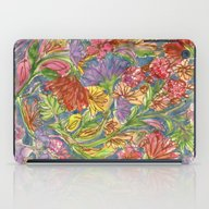 iPad Case featuring Fall Floral by Sand Salt Moon