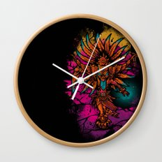 Ancient Spirit Wall Clock