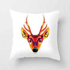 huemul Throw Pillow
