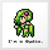 I'm A Rydia (not A Carri… Art Print
