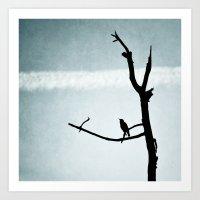 Le petit Oiseau Art Print