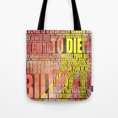 Kill Bill redux Tote Bag