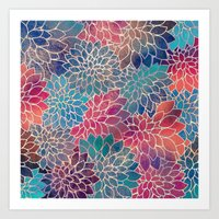 Floral Abstract 8 Art Print