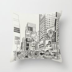 The Heart Beats In Its Cage Throw Pillow