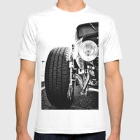 Classic Coup Mens Fitted Tee White SMALL