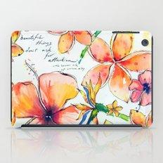 Beautiful tropical things iPad Case