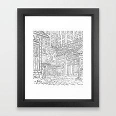Peace & Laugh Framed Art Print