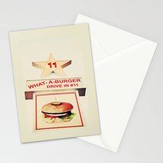 What A Burger Stationery Cards