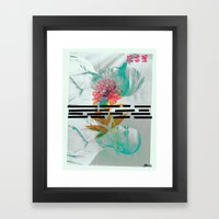 Elevation (le langage des fleurs) #2 Framed Art Print