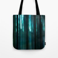Forest in emerald green Tote Bag